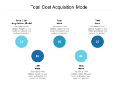 Total Cost Acquisition Model Ppt PowerPoint Presentation Layouts Cpb