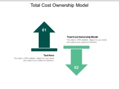 Total Cost Ownership Model Ppt PowerPoint Presentation Professional Visuals Cpb