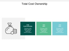 Total Cost Ownership Ppt PowerPoint Presentation Infographics Clipart Cpb