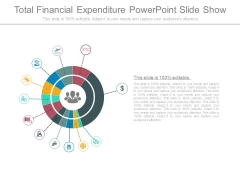 Total Financial Expenditure Powerpoint Slide Show