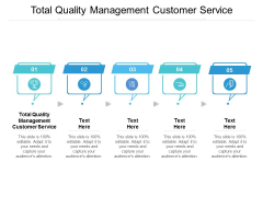 Total Quality Management Customer Service Ppt PowerPoint Presentation Ideas Cpb