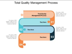 Total Quality Management Process Ppt PowerPoint Presentation Outline Styles Cpb