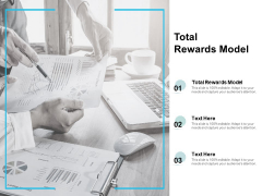 Total Rewards Model Ppt PowerPoint Presentation Styles Templates Cpb