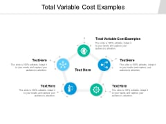 Total Variable Cost Examples Ppt PowerPoint Presentation Show Templates Cpb