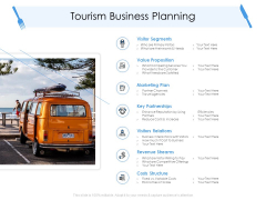 Tourism And Hospitality Industry Tourism Business Planning Ppt Ideas PDF