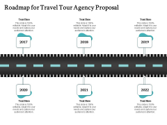 Tourism And Leisure Firm Roadmap For Travel Tour Agency Proposal Ppt Outline Summary PDF