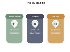 Tpm 5S Training Ppt PowerPoint Presentation Outline Rules Cpb