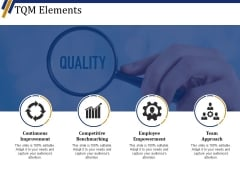 Tqm Elements Ppt PowerPoint Presentation Gallery Topics