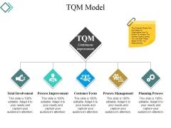 Tqm Model Ppt PowerPoint Presentation Slides Portrait