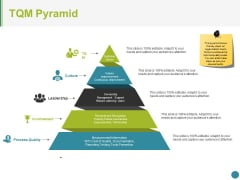 Tqm Pyramid Ppt PowerPoint Presentation Styles Slideshow
