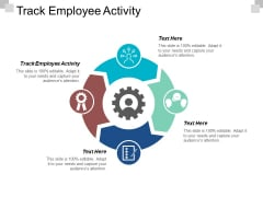 Track Employee Activity Ppt PowerPoint Presentation Ideas Visual Aids