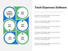Track Expenses Software Ppt PowerPoint Presentation Professional Samples Cpb