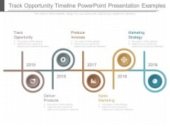 Track Opportunity Timeline Powerpoint Presentation Examples
