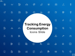 Tracking Energy Consumption Icons Slide Ppt Ideas Styles PDF