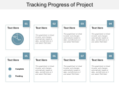 Tracking Progress Of Project Ppt PowerPoint Presentation File Introduction