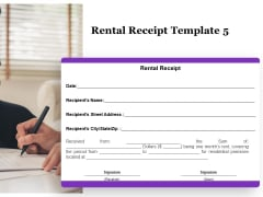 Tracking Rent Receipt Invoice Summary Rental Receipt Template Located Ppt Styles Styles PDF