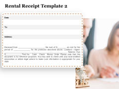 Tracking Rent Receipt Invoice Summary Rental Receipt Template Ppt Layouts Slides PDF