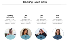 Tracking Sales Calls Ppt PowerPoint Presentation Pictures Guidelines