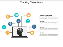 Tracking Tasks Work Ppt PowerPoint Presentation Professional Diagrams Cpb