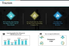 Traction Ppt PowerPoint Presentation Icon Example Introduction