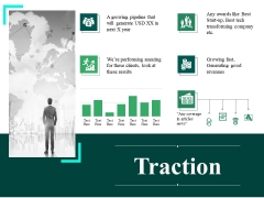 Traction Ppt PowerPoint Presentation Infographic Template Background Designs