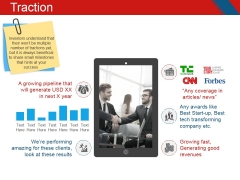 Traction Ppt PowerPoint Presentation Inspiration Example Introduction