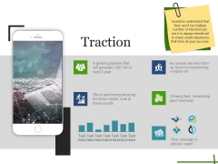 Traction Ppt PowerPoint Presentation Styles Objects