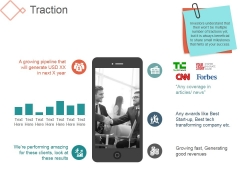 Traction Ppt PowerPoint Presentation Summary