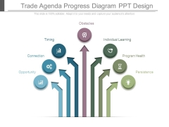 Trade Agenda Progress Diagram Ppt Design