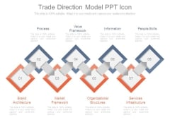 Trade Direction Model Ppt Icon