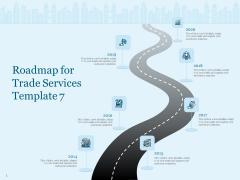 Trade Facilitation Services Roadmap For Trade Services 2014 To 2020 Ppt Portfolio Picture PDF