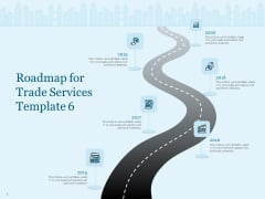 Trade Facilitation Services Roadmap For Trade Services 2015 To 2020 Ppt File Background Images PDF