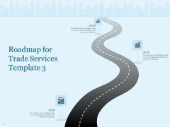 Trade Facilitation Services Roadmap For Trade Services 2018 To 2020 Ppt Portfolio Icon PDF