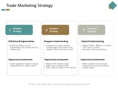 Trade Marketing Strategy Ppt Powerpoint Presentation Infographic Template Format