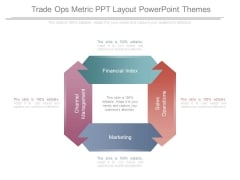 Trade Ops Metric Ppt Layout Powerpoint Themes