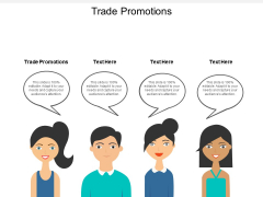 Trade Promotions Ppt PowerPoint Presentation Inspiration Structure Cpb