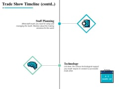Trade Show Timeline Contd Technology Ppt PowerPoint Presentation Infographics Styles