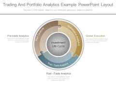 Trading And Portfolio Analytics Example Powerpoint Layout