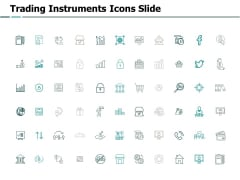 Trading Instruments Icons Slide Pillars Ppt PowerPoint Presentation Professional Brochure