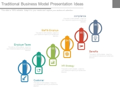Traditional Business Model Presentation Ideas