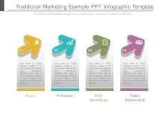 Traditional Marketing Example Ppt Infographic Template
