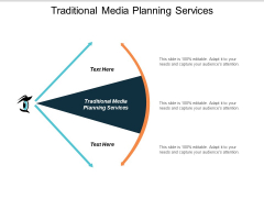 Traditional Media Planning Services Ppt PowerPoint Presentation Pictures Template Cpb