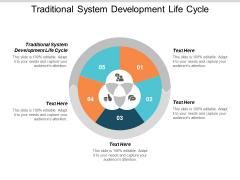Traditional System Development Life Cycle Ppt PowerPoint Presentation Styles Gridlines Cpb