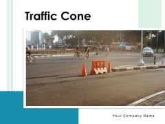 Traffic Cone Construction Cones Cone Placed Ppt PowerPoint Presentation Complete Deck
