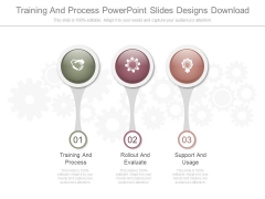 Training And Process Powerpoint Slides Designs Download