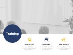 Training Communication Ppt PowerPoint Presentation Infographics Portrait