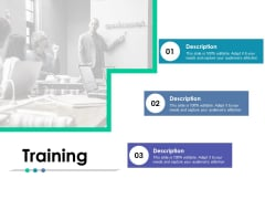 Training Description Ppt PowerPoint Presentation Gallery Guidelines