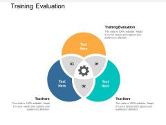 Training Evaluation Ppt PowerPoint Presentation Design Ideas Cpb