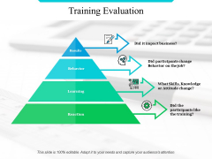 Training Evaluation Ppt PowerPoint Presentation Gallery Sample