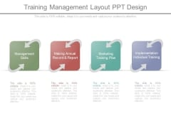 Training Management Layout Ppt Design